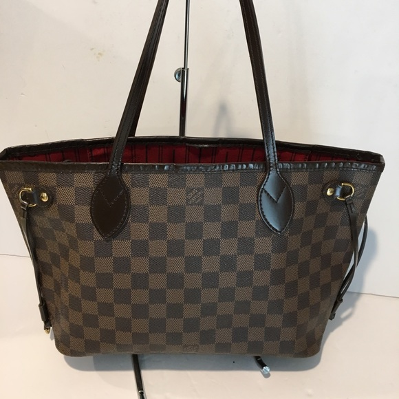 240bb054a Louis Vuitton Handbags - Authentic louis vuitton neverfull PM damier ebene